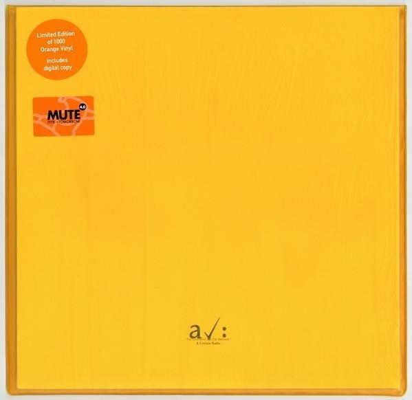 A CERTAIN RATIO The Graveyard And The Ballroom Orange LP