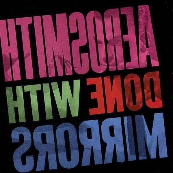 AEROSMITH Done With Mirrors LTD LP