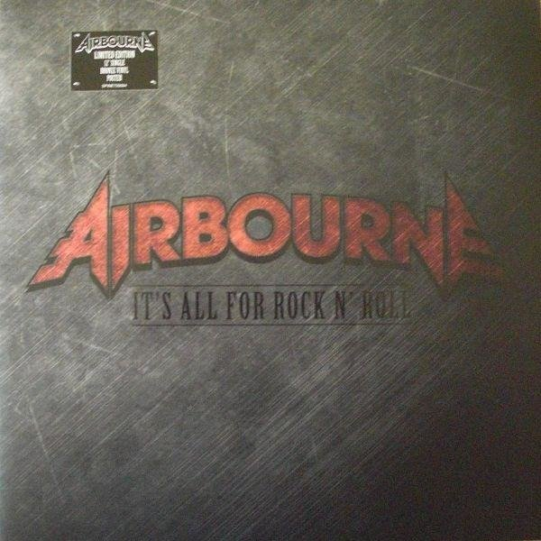 AIRBOURNE It's All For Rock N' Roll/ It's Never Too Loud For Me VINYL MAXISINGLE