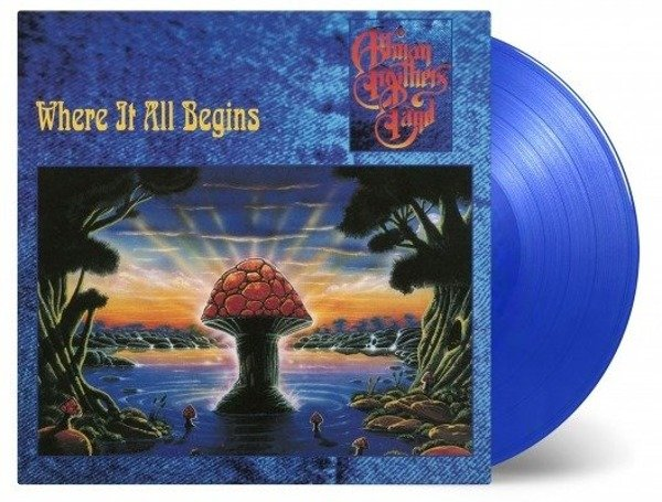 ALLMAN BROTHERS BAND Where It All Begins 2LP BLUE