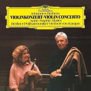 ANNE SOPHIE MUTTER Brahms Violin Concerto LP