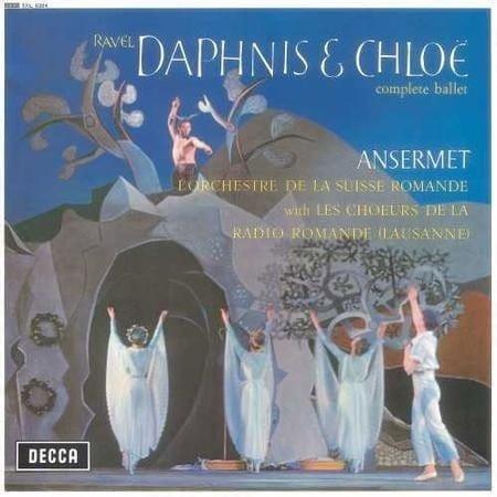 ANSERMET Ravel Daphnis & Chloe LP