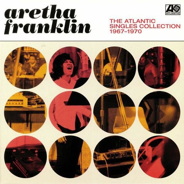 ARETHA FRANKLIN The Atlantic Singles Collection 1967 - 1970 2LP
