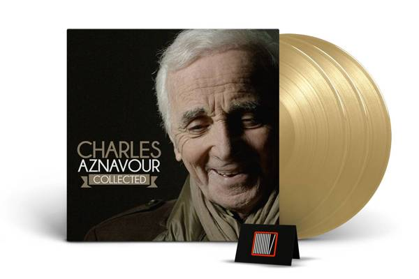 AZNAVOUR, CHARLES Collected 3LP