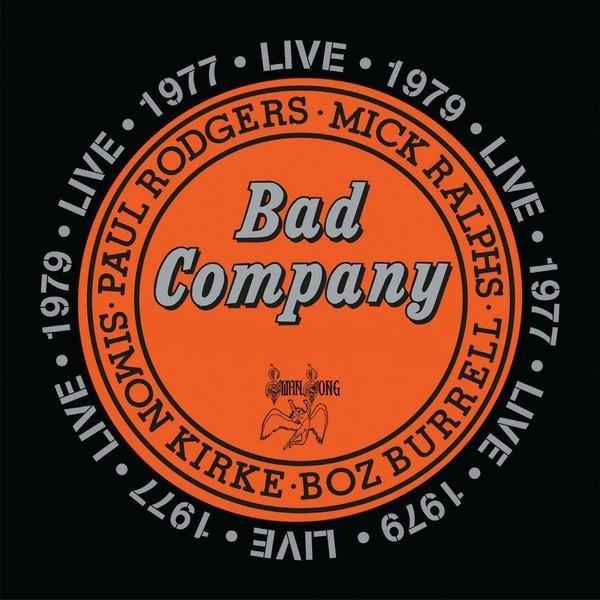 BAD COMPANY Live 1977 2LP