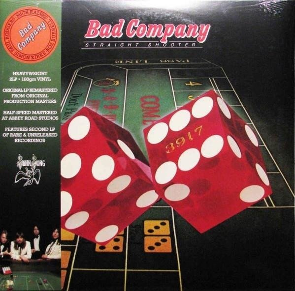 BAD COMPANY Straight Shooter 2LP