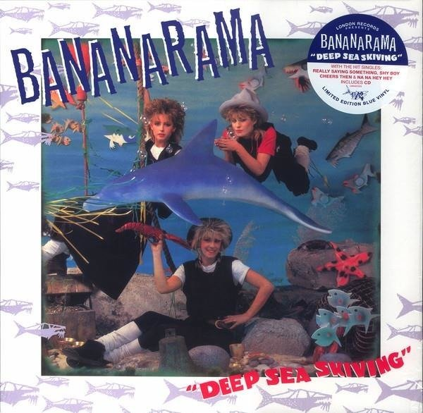 BANANARAMA Deep Sea Skiving  LP+CD