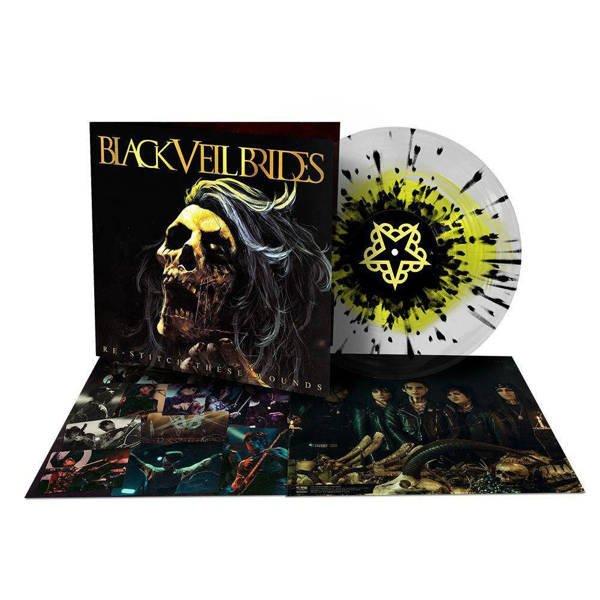 BLACK VEIL BRIDES Re-Stitch These Wounds LP COLOURED