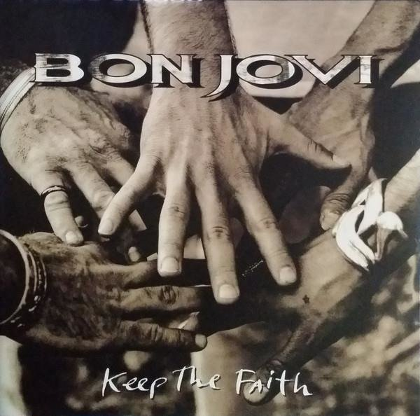 BON JOVI Keep The Faith  2LP