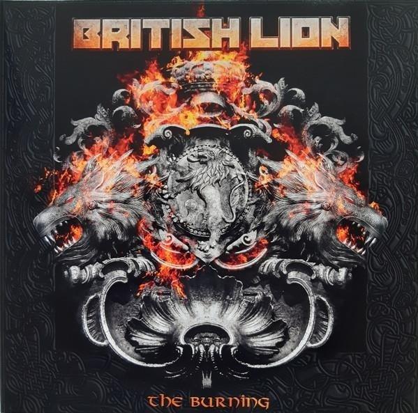 BRITISH LION The Burning (BLACK Vinyl) 2LP