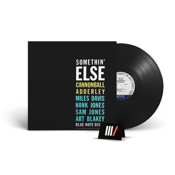 CANNONBALL ADDERLEY Somethin' Else LP