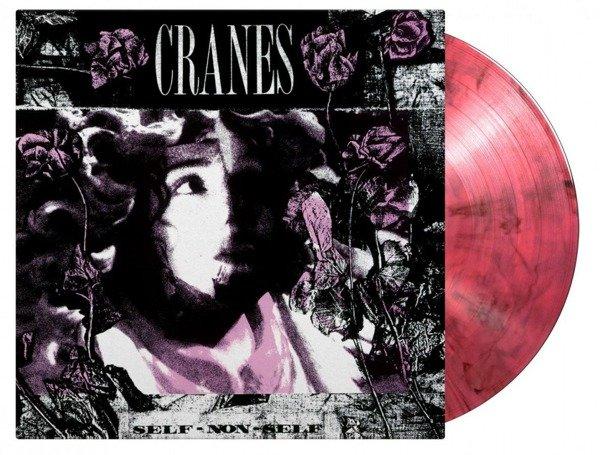 CRANES Self-Non-Self LP PINK & BLACK MIXED VINYL