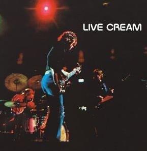 CREAM Live Cream LP
