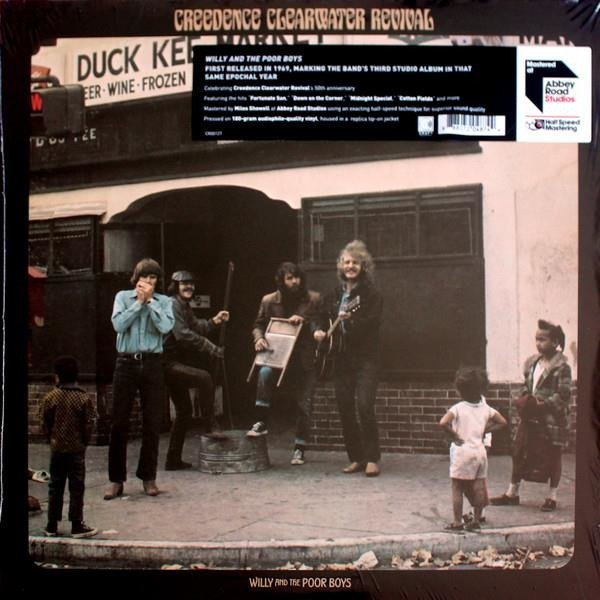 CREEDENCE CLEARWATER REVIVAL Willy And The Poor Boys LP