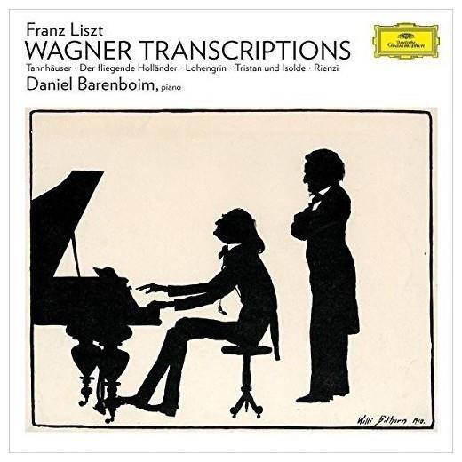 DANIEL BARENBOIM Liszt Wagner Transcriptions For Piano LP