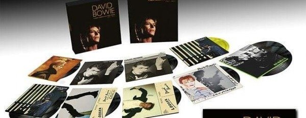 DAVID BOWIE A New Career In A New Town (1977 - 1982) - Limited 13LP