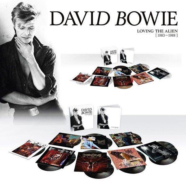 DAVID BOWIE Loving The Alien (1983 - 1988) 15LP
