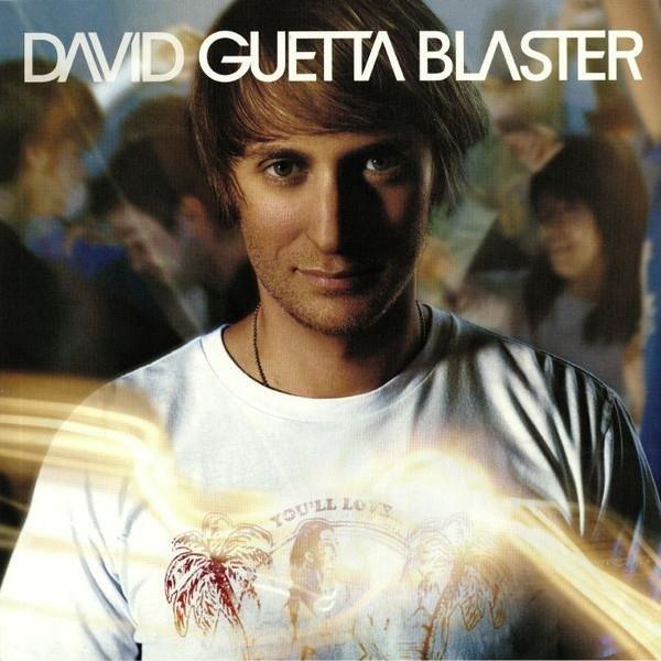 DAVID GUETTA Guetta Blaster (GOLD Vinyl) 2LP