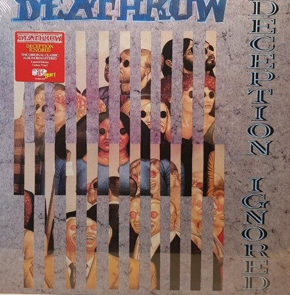 DEATHROW Deception Ignored LP