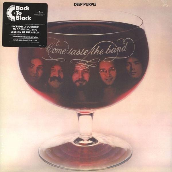 DEEP PURPLE Come Taste The Band LP