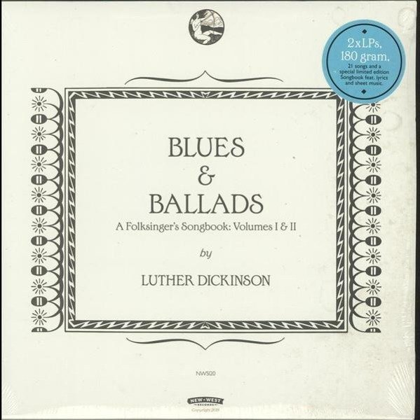 DICKINSON, LUTHER Blues & Ballads Vol I & II 2LP