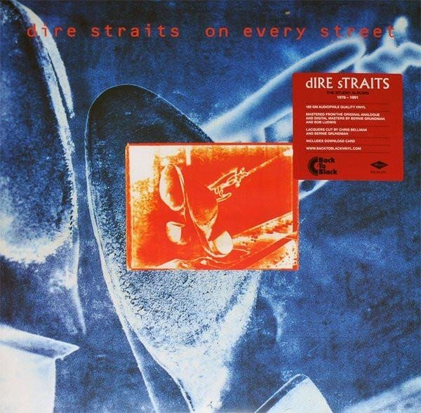 DIRE STRAITS On Every Street  2LP