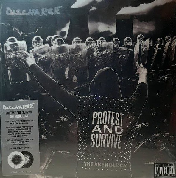 DISCHARGE Protest And Survive: The Anthology 2LP
