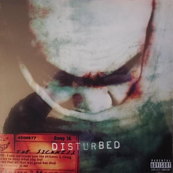 DISTURBED The Sickness LP