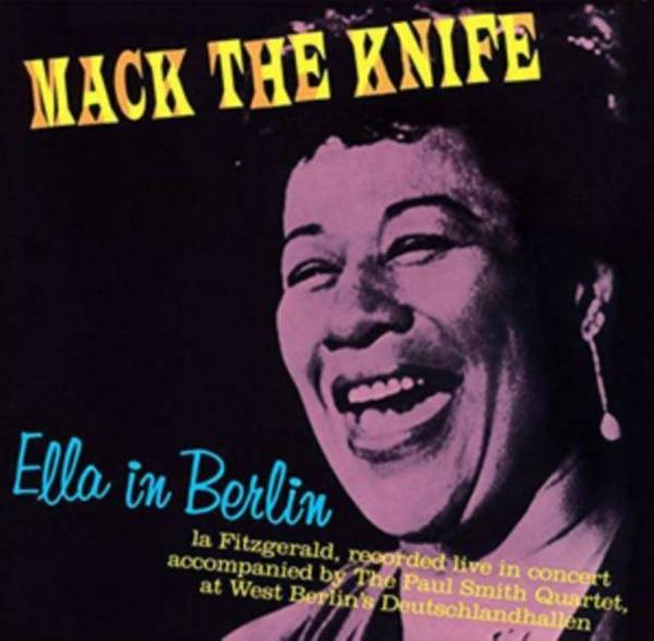 ELLA FITZGERALD Mack The Knife: Ella In Berlin LP