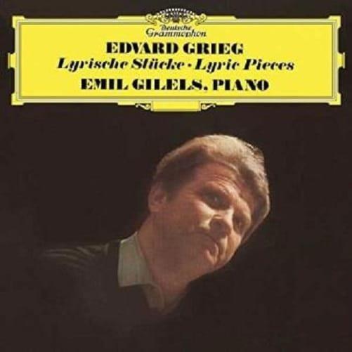 EMIL GILELS Grieg Lyric Pieces LP