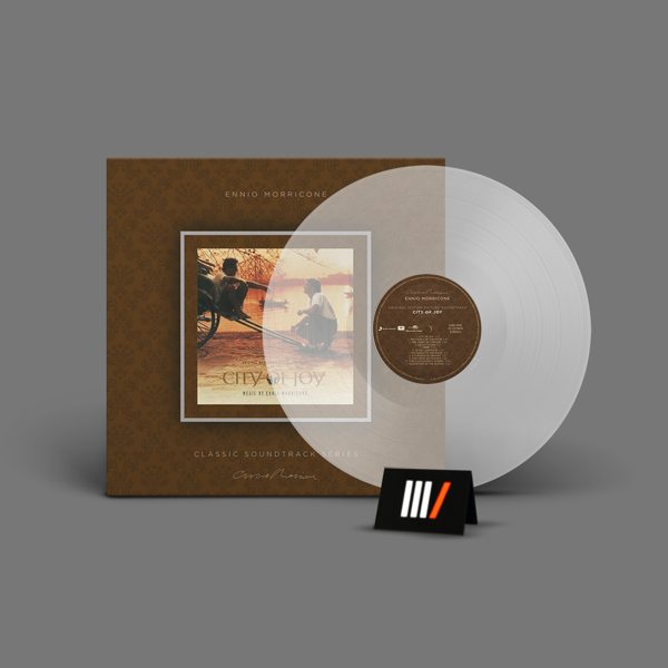 ENNIO MORRICONE City Of Joy OST LP TRANSPARENT