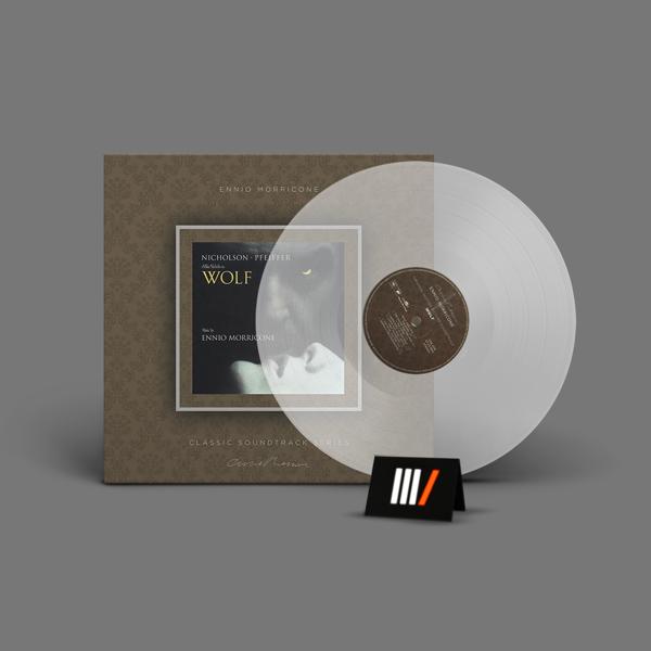 ENNIO MORRICONE Wolf OST LP Transparent Vinyl