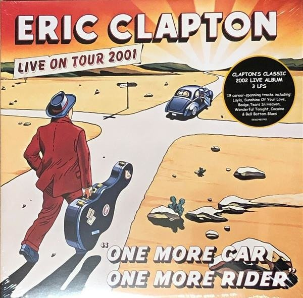 ERIC CLAPTON One More Car, One More Rider 3LP