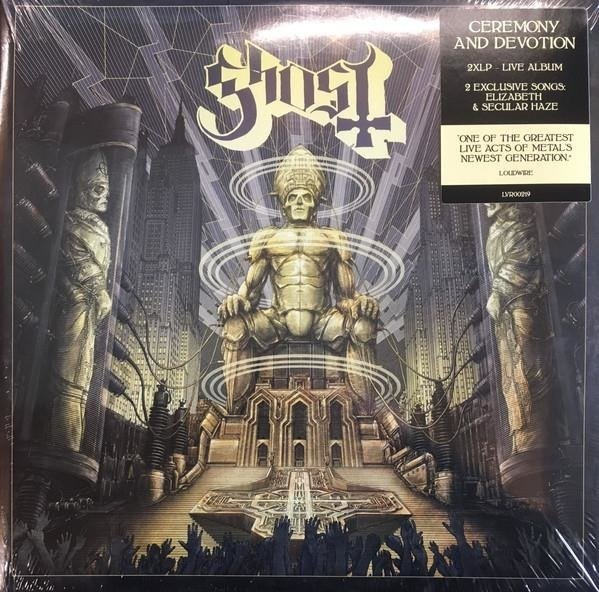 GHOST Ceremony And Devotion 2LP