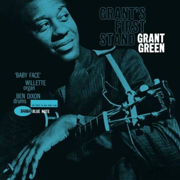 GRANT GREEN Grant's First Stand (DEBUTS) LP