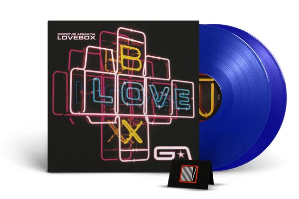GROOVE ARMADA Lovebox 2LP BLUE