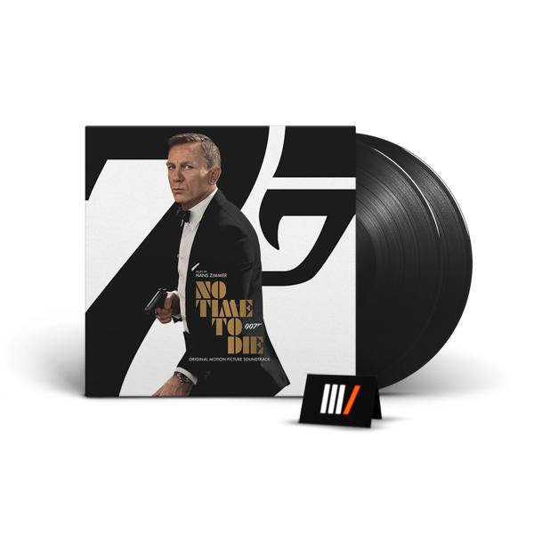 HANS ZIMMER No Time To Die 2LP 007 James Bond