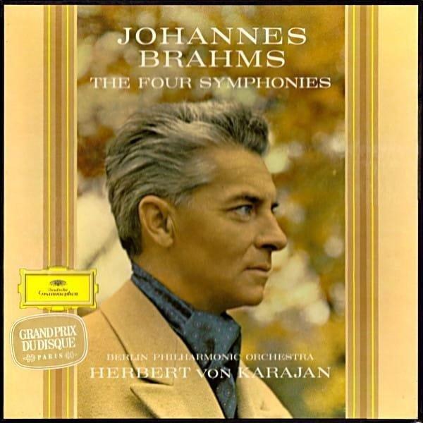 HERBERT VON KARAJAN Brahms 4 Symphonies 4LP