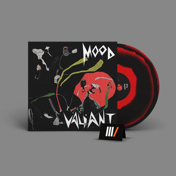 HIATUS KAIYOTE Mood Valiant LP BLACK / RED
