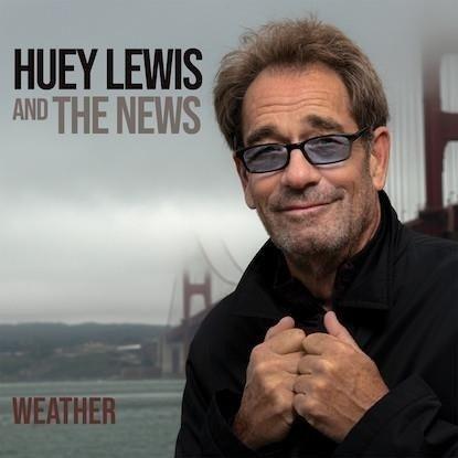 HUEY LEWIS & THE NEWS Weather LP