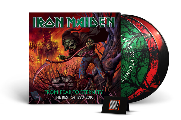 IRON MAIDEN From Fear To Eternity: Best Of 1990-2010 3LP
