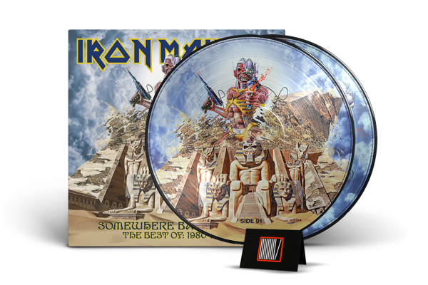 IRON MAIDEN Somewhere Back In Time: The Best Of 1980 2LP