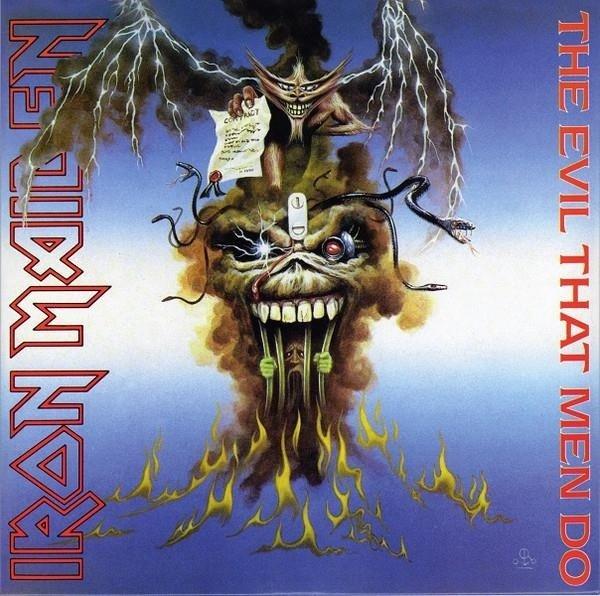IRON MAIDEN The Evil That Men Do (7') - Limited VINYL SINGLE