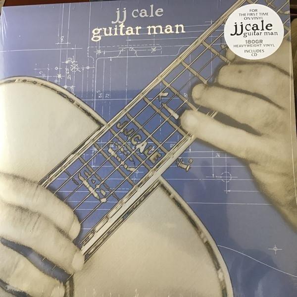 J.J. CALE Guitar Man LP+CD