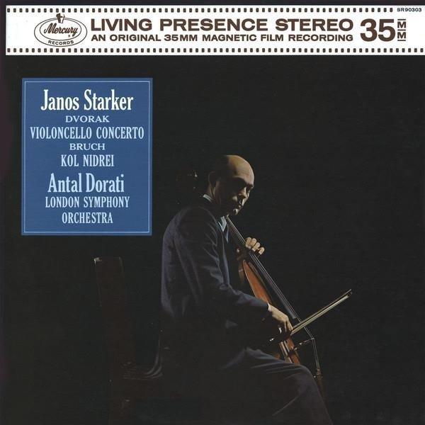 JANOS STARKER Dvorak Cello Concerto LP