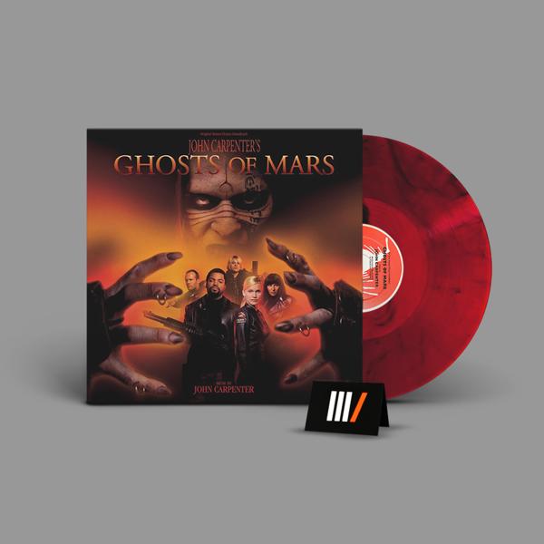JOHN CARPENTER Ghosts Of Mars LP COLOURED
