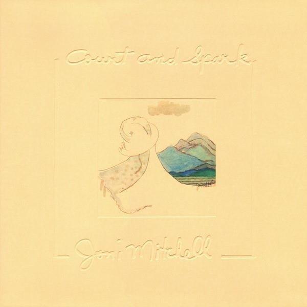 JONI MITCHELL Court And Spark LP