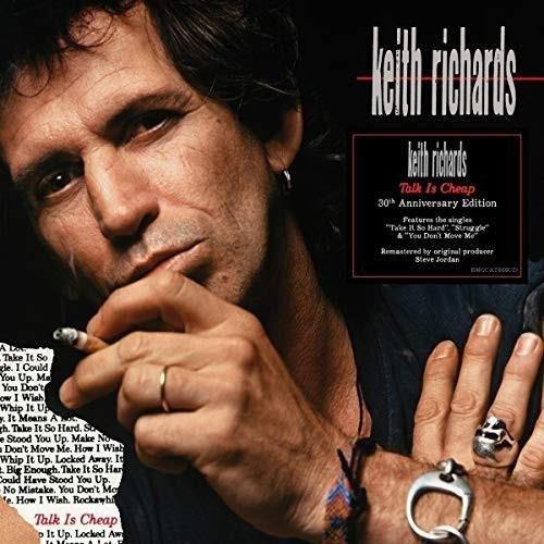KEITH RICHARDS Talk Is Cheap LP