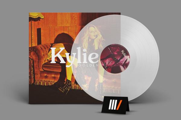 KYLIE MINOGUE Golden LP CLEAR
