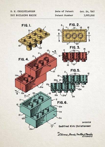 Klocki Lego PLAKAT